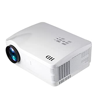 Proyector LED 3000LM Real 1280 * 768p, 1-6M Distancia de ...