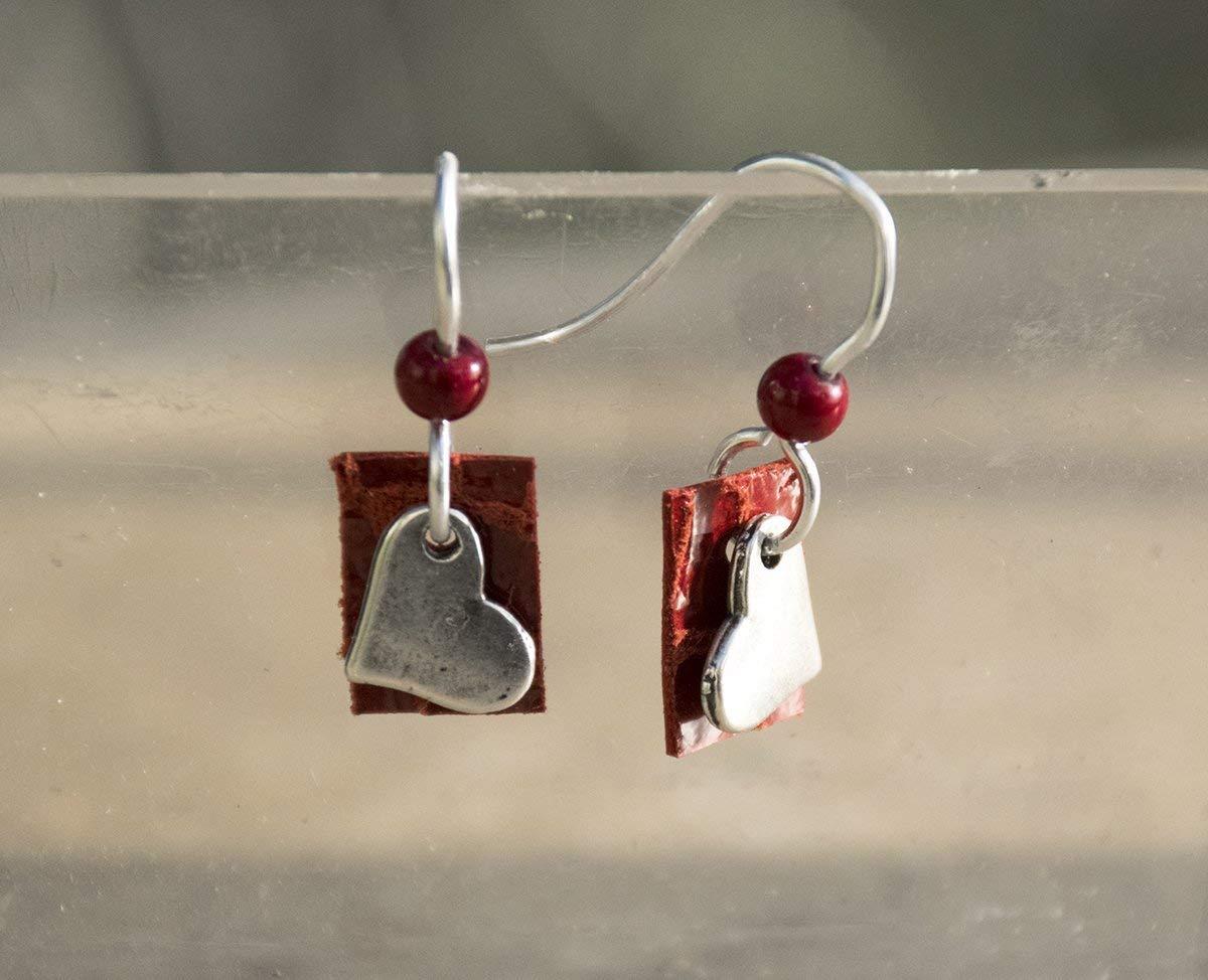 Love Valentine/'s Beaded Earrings