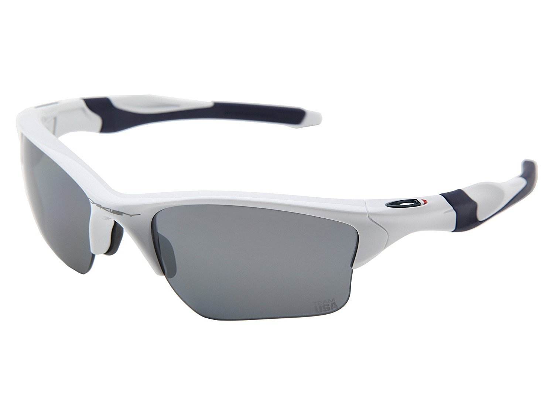 Oakley Men's 0OO9153 Rectangular Sunglasses, Slate Iridium Lens , Silver by Oakley