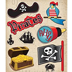 K&company Pirates Sticker Medley