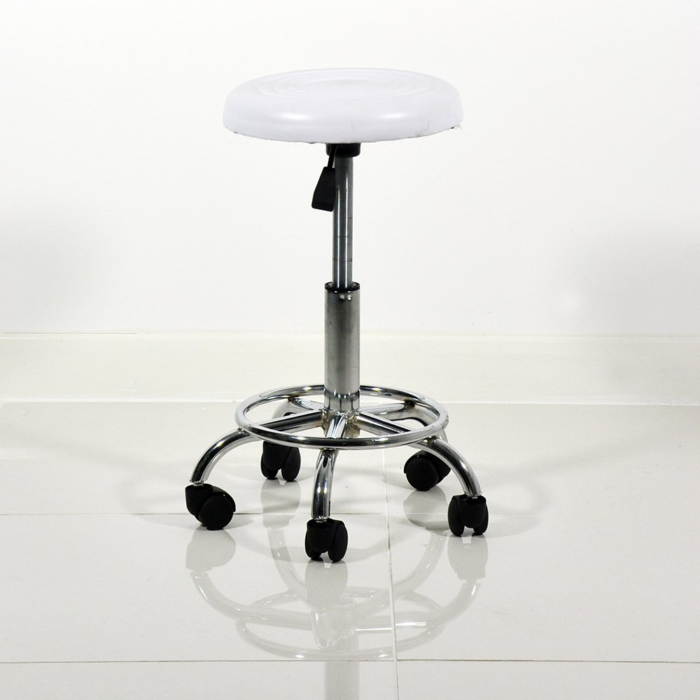 Heaven Beauty Therapy Dentist Black Leather Swivel Stool Professional Salon Equipment Beauty4Less KF300B