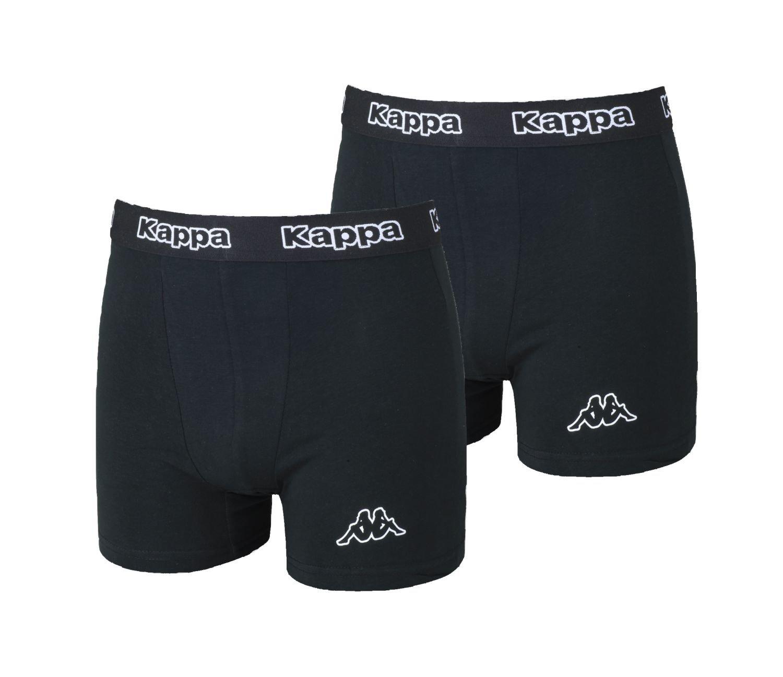 XXL Kappa 2er Gr 24er Set Boxershorts Herren in Schwarz Plus gratis Geschenk Knoblauchschneider S