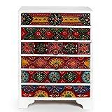 storeindya Wooden Keepsake Box/Keepsake Box with Drawers/Chest of Drawers with Cabinet/Keepsake Box for Girls/Storage Decorative Boxes/Mini Wood Cabinet/Small Wood Cabinet (Shabby Chic Collection)