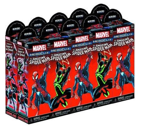 Marvel HeroClix: Marvel Booster The Amazing Spider-Man HeroClix: Booster B00BBQOLP2, 勝山市:675f3d76 --- 2017.goldenesbrett.net