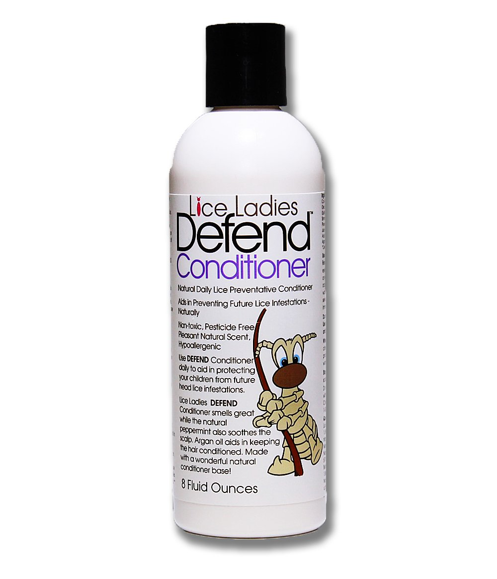 Lice Ladies Defend Conditioner / Natural Daily Lice Preventative Hair Conditioner / Natural ingredients and Pesticide Free / 8 ounce
