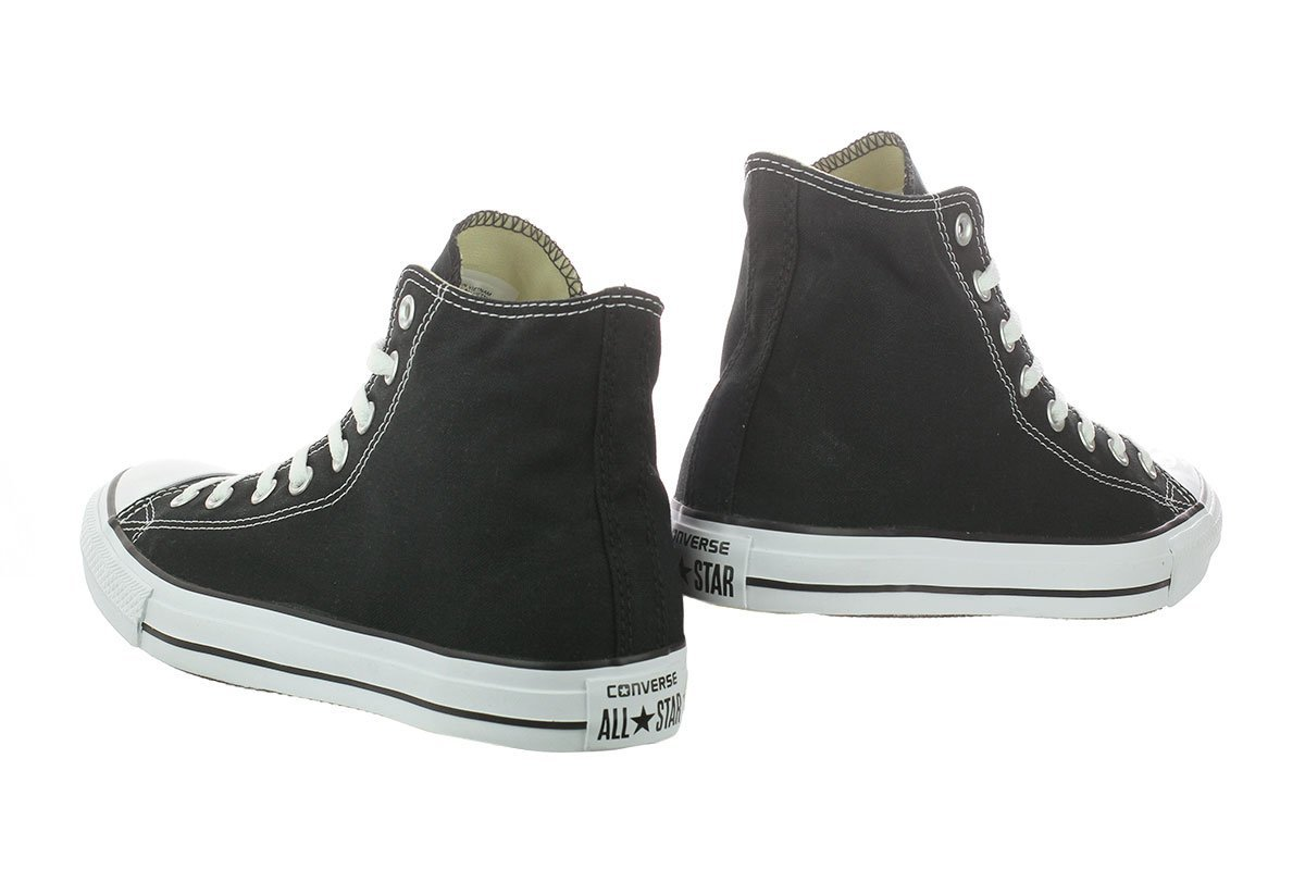 Chuck Taylor All Star Canvas High Top, Black, 4 M US by Converse (Image #11)