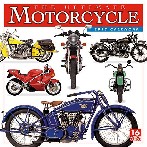 The Ultimate Motorcycle 2019 Wall Calendar