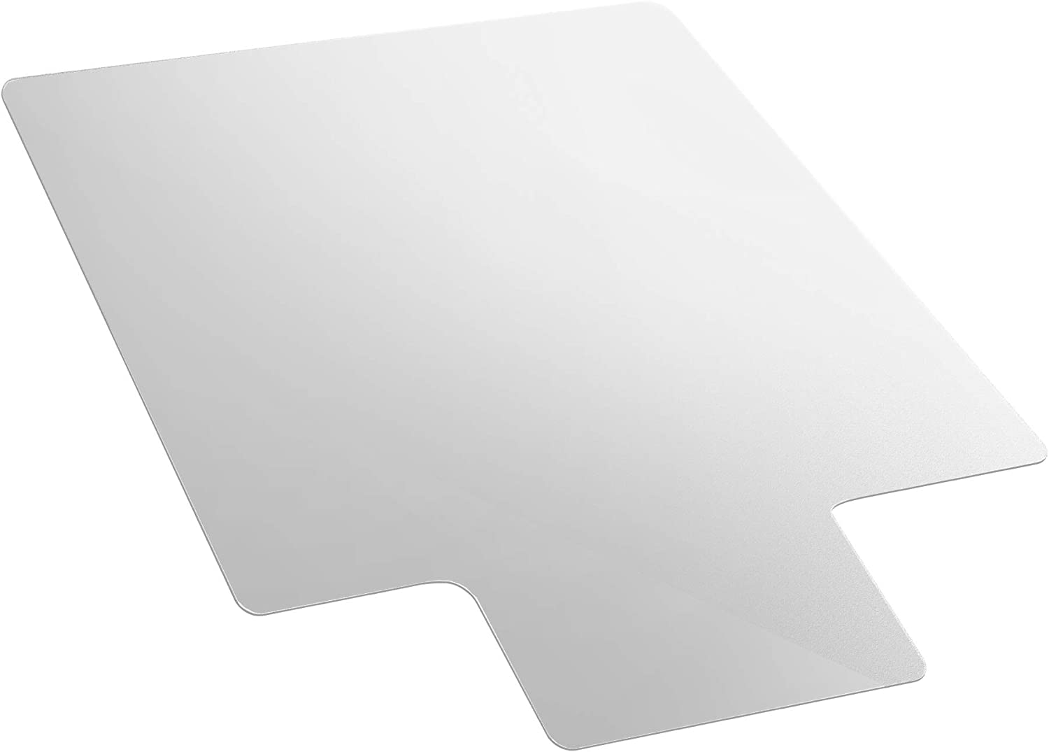 "AmazonBasics Polycarbonate Chair Mat with Lip for Hard Floors - 47"" x 53"""