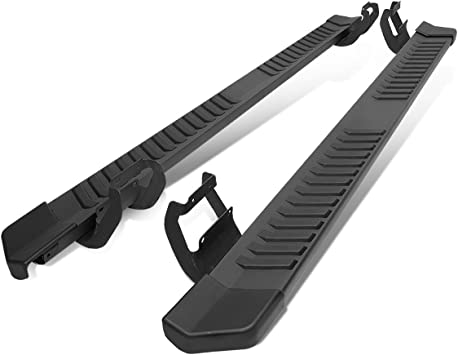 6 Inches Black Running Board Side Step Nerf Bar Compatible with Ford F150// F250 F350 SD Crew Cab 15-20