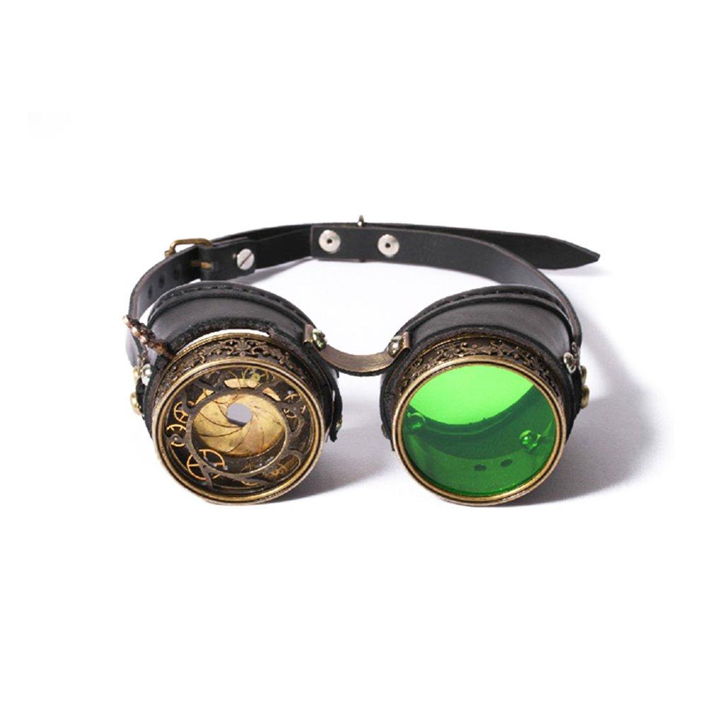KEHUASHINA Klassische Männer Punk Sonnenbrille Goggles Goggles Goggles Sonnenbrille Halloween Cosplay Super Retro Männlich Original Brand Designer 40ef5c