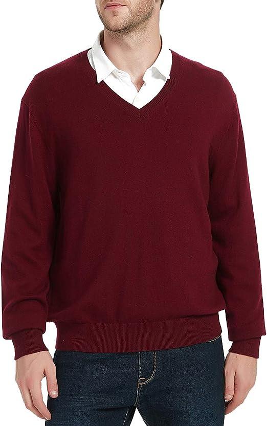 Slate Blue Wool Pullover; Men/'s Large V-Neck SweaterWomen/'s XL Boyfriend Sweater; WarmClassicPreppy