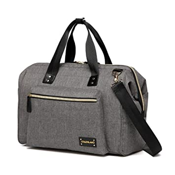 b1ec544a5746 Amazon.com   Colorland large diaper bag organizer nappy bags maternity bags  for mother baby bag stroller diaper handbag bolsa maternidade (grey)   Baby