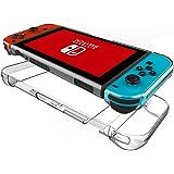 Nintendo Switch ケース Mothca 2in1 本体カバー+Joy-Con カバー PCハードタイプ アンチスクラッチ クリア