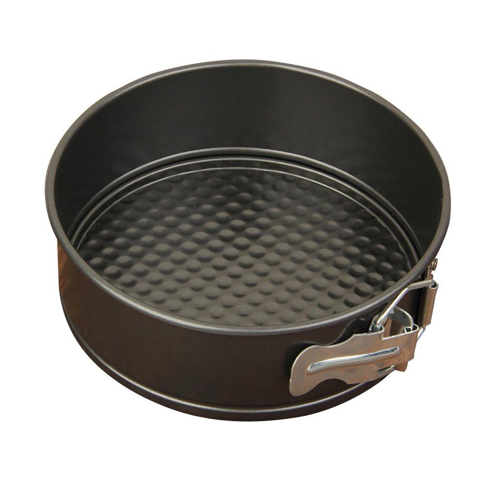 ANLIN 4/6/8/10 inch Springform pan Cake Mold Baking Oven Tool Non-Stick Bakeware Round Carbon Steel Springform Cake Pan (4in)