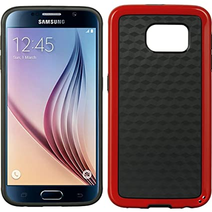 Amazon com: Galaxy S6 Case, Dreamwireless Checker PC/TPU