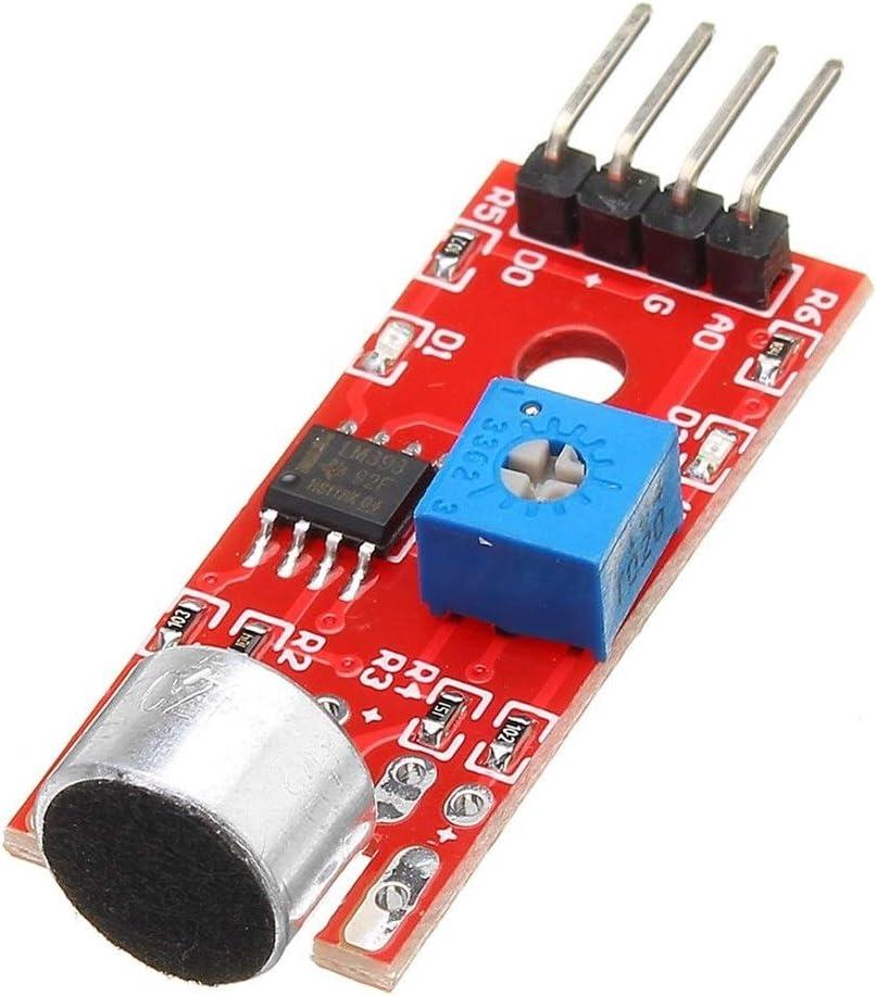 Wangyueha KY-037 Módulo de Sensor de detección de Sonido de Voz de ...