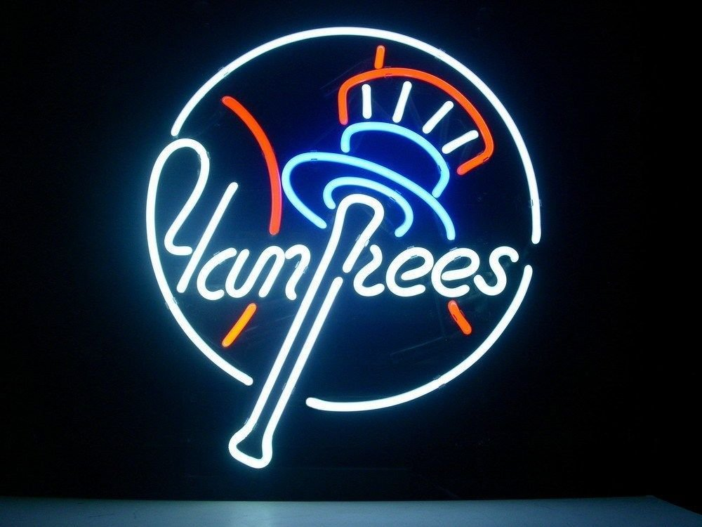 Urby™ 18''x16'' Sports Teams NYY Beer Bar Pub Neon Light Sign 3-Year Warranty-Excellent Handicraft! M25