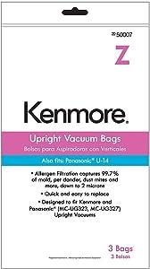 50007 Kenmore Vacuum Bag, Type Z, 3-Pack Genuine Original Equipment Manufacturer (OEM) Part