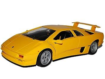 Bburago Lamborghini Diablo Coupe Gelb 1990 2001 18 12042 1 18 Modell