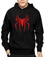 Mens' Spiderman Grid Logo Cool Hoodies Cotton