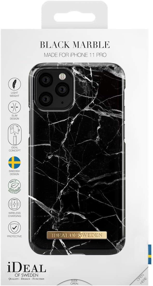 Vegan Leather Como Black iDeal Of Sweden Handyh/ülle f/ür iPhone 11