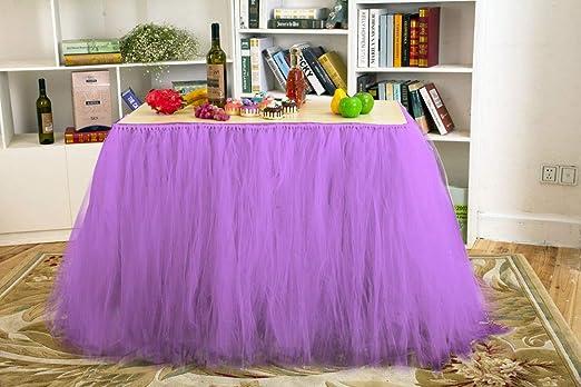 Amazon.com: Tutu - Mantel de tul para decoración de bodas ...