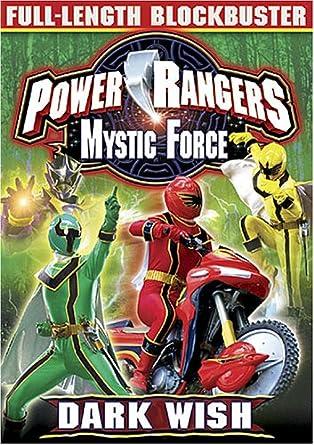 Amazon.com: Power Rangers Mystic Force - Dark Wish - The ...