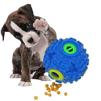 FineInno Comedero de Comida para Perro, Interactivo, Bola de Tratamiento de IQ, Juguete
