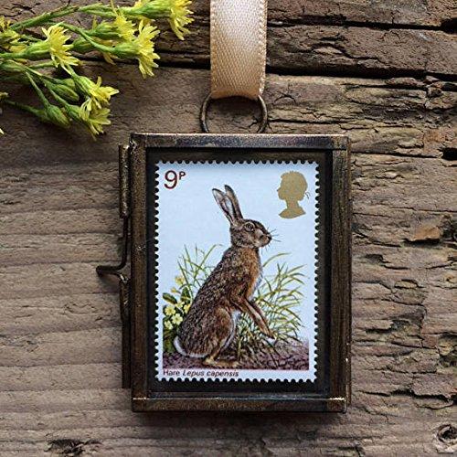 Hare Framed Postage Stamp Gift (Framed Stamp)