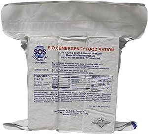 5ive Star Gear SOS Emergency Food Ration Bars