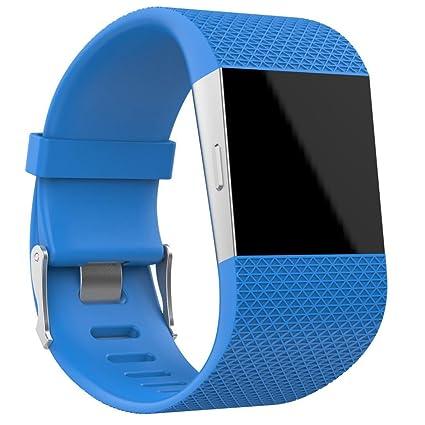 Para Fitbit Surge bandas bandas de silicona, de deporte ...