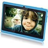 """JINYJIA E-SHOP 7"""" Pulgadas de Google Android Tablet PC 4.2.2 512MB DDR3 A23 Dual Core Cámaras Capacitiva Pantalla WiFi 1.5GHz (8GB, Cielo azul)"""