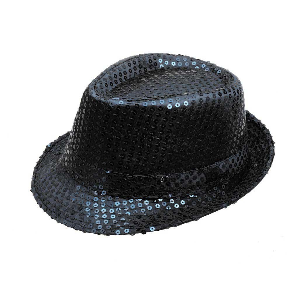 ACEKB Sequined Outdoor Sports Hat Flat Roof Dance Stage Show Cap for Women & Men