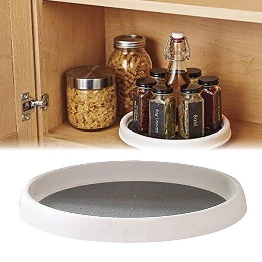Aparador antideslizante 360 °, almacenamiento de platos, estante ...