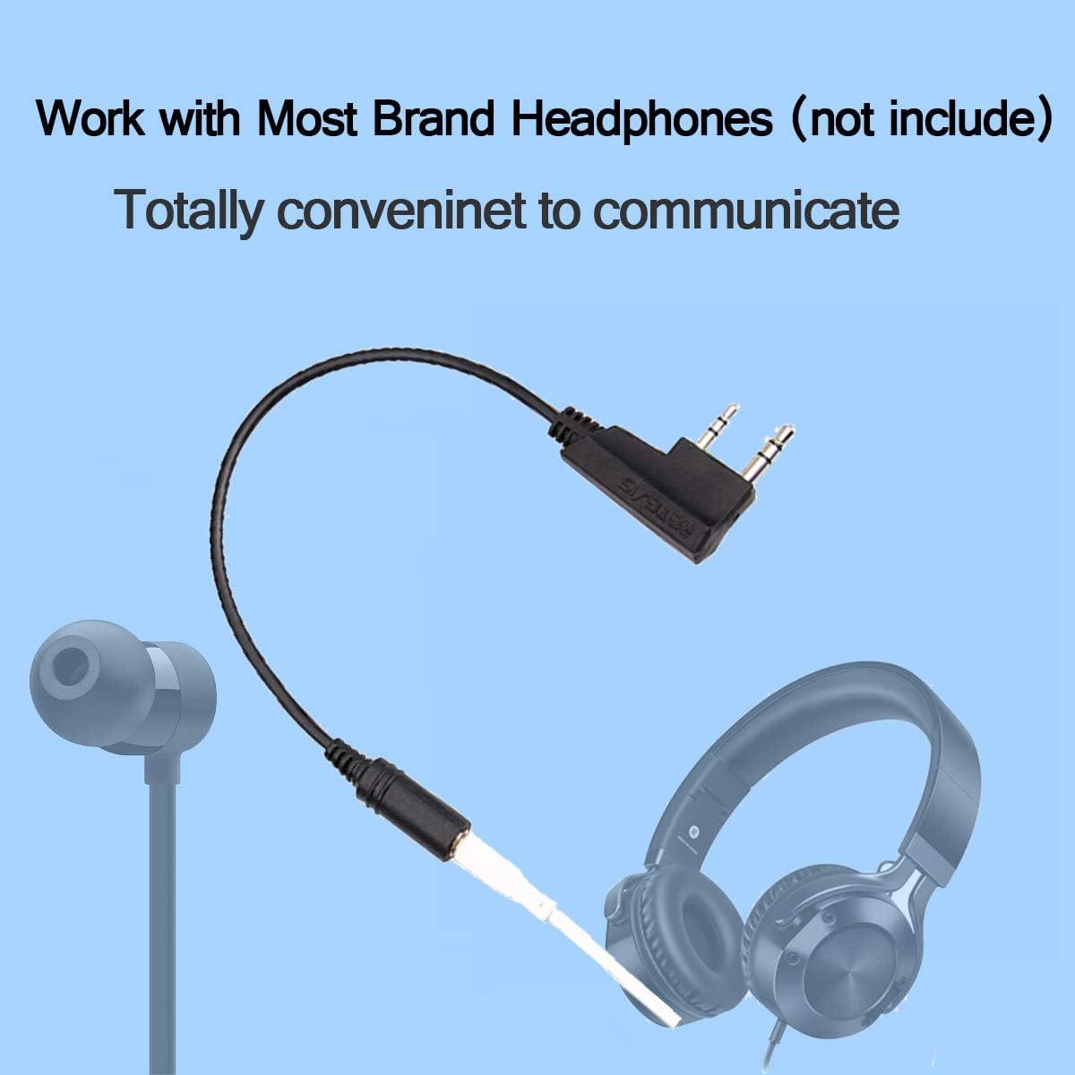 Rexon BA10 Wireless earphone adapter for two-way radio