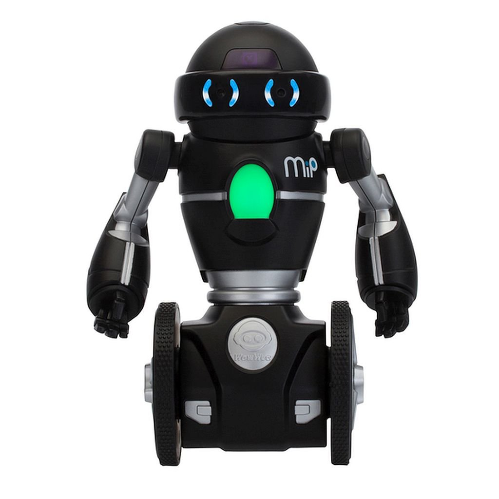 MiP Black and Silver - This Electronic And Interactive Pal Is Much More Than A Toy, With A Responsive Personality That Comes To Life Through Motion