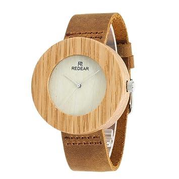 GFFXIXI Reloj Mujer | Diseño Minimalista | Relojes Hechos De Madera Sostenible Precio Asequible