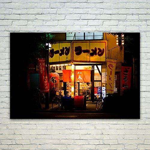 Westlake Art Poster Print Wall Art - Ramen Night - Modern Picture Photography Home Decor Office Birthday Gift - Unframed - 16x24in (Best Itinerary For Japan)