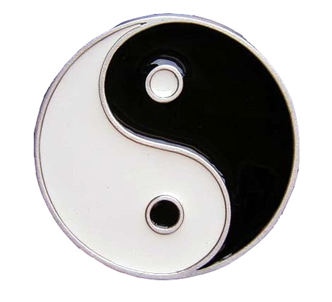 Ying Yang Belt Buckle