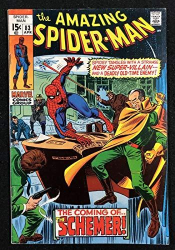 Amazing Spider-Man (1963) 83 FN/VF (7.0) 1st full app Vanessa Fisk & 1st Schemer