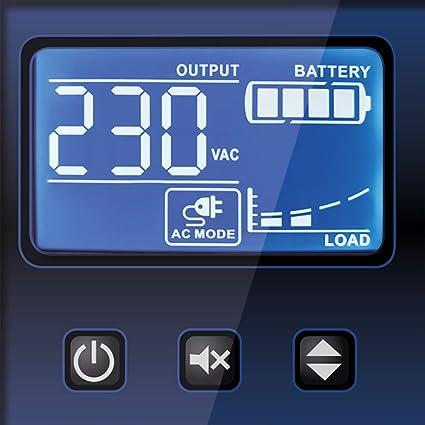 Tecnoware Sistema de alimentación ininterrumpida SAI EXA Plus 1500 ...