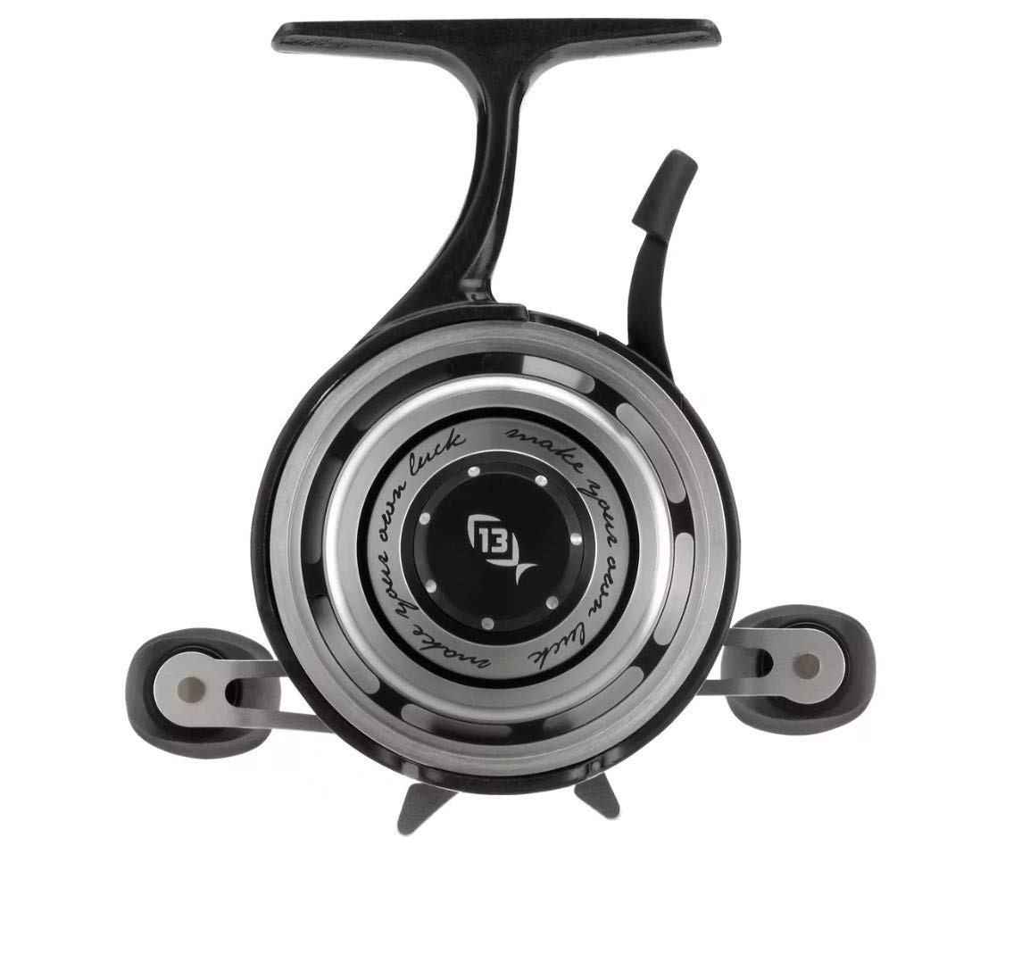 13 FISHING Black Betty Freefall Right Hand Hardwater Inline Ice Fishing Reel