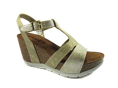 Inblu Keilabsatz Sandale Bio Mainapps vb2swY
