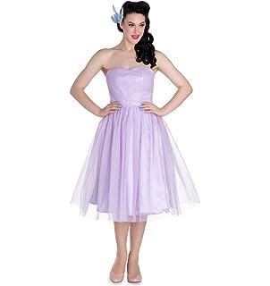 Hell Bunny Party Prom Dress Princess Fairy Tamara Net Lavender Purple