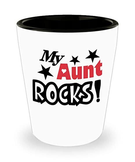 Amazoncom Best Aunt Ever Shot Glass Shot Glasses For