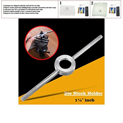 Die Handle Stock Holder Wrench 38mm round dies 290mm Length