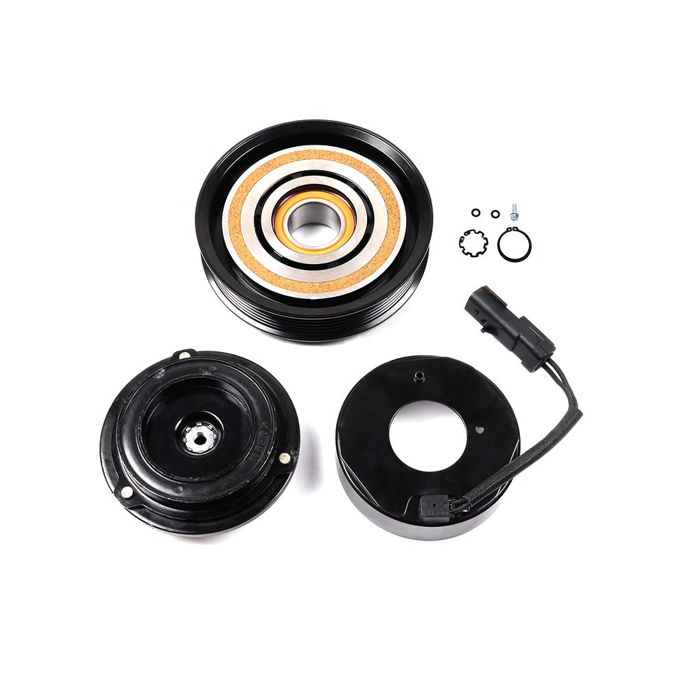 Amazon.com: SCITOO AC Compressor Clutches Repair Set CO 29001C Auto Compressor Clutch Assembly Kit for Chrysler Voyager Town Country Dodge Grand Caravan ...