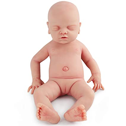 398d74875 Amazon.com  vollence 18 Inch Realistic Sleeping Real Baby Doll