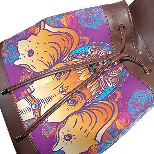 au DragonSwordlinsu à porté multicolore pour dos unique main femme Sac Taille IqqFwC