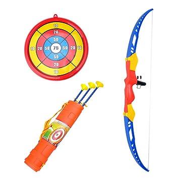 Spielzeug für draußen Pfeile mit Saugnapf für Pfeil und Bogen Set Kinder zum Bogenschießen 3
